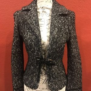 CLASSIQUES NORDSTROM SWEATER JACKET XS